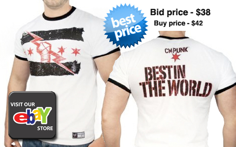 Cm Punk Best In The World T Shirt Sgwrestlingtee