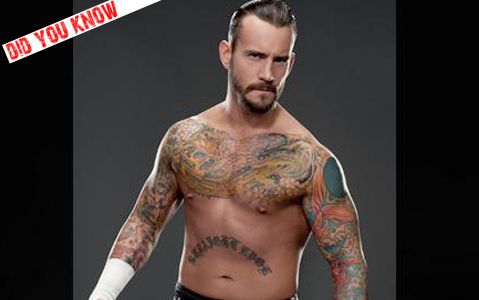 Did You Know: CM Punk Pepsi Tattoo « sgwrestlingtee